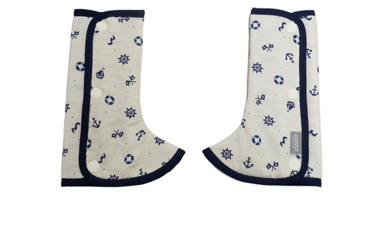 Shoulder & Corner Cover Marine navy